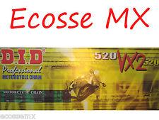 HONDA DID VX2 520 x 120L CADENA X-RING CRF250 X CRF450 Crf450x