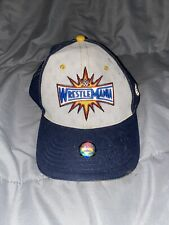 Hard to Find! New Licensed WWE Wrestlemania 33 Baseball Hat SNAPBACK