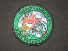 Susquehannock 11 Jungle Outpost '07 Patch   eb10