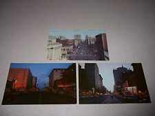 1950s Downtown Street Views Spokane Washington Vtg Unused Postcard Lot