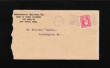 Indianapolis Abattoir Beef Pork Packers New Haven CT 1915 Cover 2q