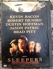 'SLEEPERS' DVD CON KAVIN BACON, DE NIRO, HOFFMAN, BRAD PITT. IN LINGUA INGLESE