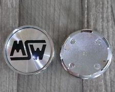 MSW / OZ / King / Eta Beta / 1000 Miglia Nabenkappen Alu gebürstet 4 Stück