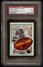 1983 Topps Football Cello Unopened Pack Graded PSA 7 NM Mike Singletary Top