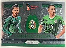 2018 Panini Prizm World Cup Soccer - Connections - Mexico - Santos Hernandez