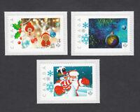 lq. CHRISTMAS =XMAS=SANTA= picture postage set 3 stamps MNH Canada 2013 [p3x3]