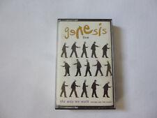 GENESIS ~ LIVE ~ THE WAY WE WALK ~ VOL 1 THE SHORTS ~ 1992 UK ROCK CASSETTE TAPE