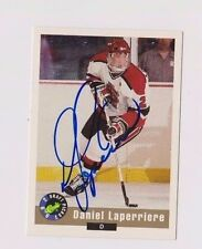 92/93 Classic Draft Daniel Laperriere St. Lawrence Univ Autographed Hockey Card