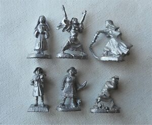 Call of Cthulhu 28mm Character Figures. Parapsychologist & Holy Sister Nun. Rafm