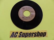 KC and the Sunshine Band baby I love you / keep it comin love 45 Record Vinyl