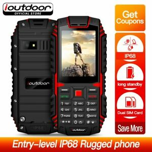 ioutdoor T1 Rugged  Phone 2G Feature IP68 Shockproof Waterproof dustproof
