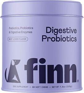 Dog Probiotics Soft Chews with 3 Billion Cfus Digestive Prebiotics Digestion USA