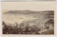 Argyllshire postcard - Oban from S.W - RP