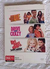 JOHN TUCKER MUST DIE/ DRIVE ME CRAZY/ GIRL NEXT DOOR (DVD, 3 DISC BOX SET)