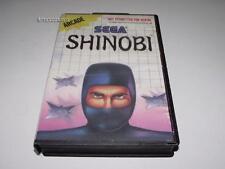 Shinobi Sega Master System PAL Preloved *Complete*