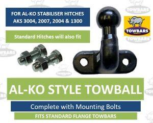 ALKO Towball Tow Ball for AL-KO AKS Caravan Stabiliser Hitches (Long High Reach)