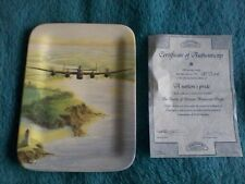 davenport battle of britain memorial flight plate a nations pride with COA boxed