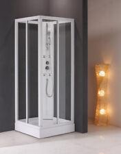 Box doccia idromassaggio cabina bagno no vasca NUOVO 90X70 cristallo
