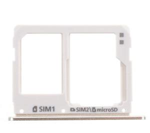 Dual SIM Micro SD Card Tray Slot For Samsung Galaxy A3 A5 A7 (2016) Gold