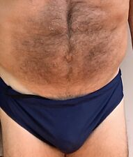 New listing Used Men navy blue with yellow Swim Brief xl?