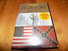 THE CIVIL WAR Battlefields Nashville Franklin Battles History Channel DVD NEW