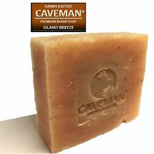 Original Handcrafted Beard and Body Soap by Caveman® (Island Breeze)