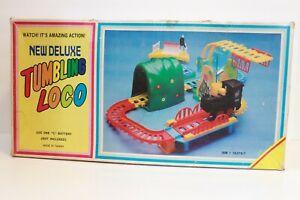 Vintage Tumbling Loco Train With Box