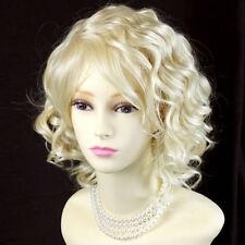Perruques, extensions et matériel cheveux synthétiques blonds bonnet classique pour femme