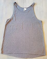 DIVIDED by H&M Men's Gray Tank Top Shirt Size Medium Muscle Shirt Gym Fitness