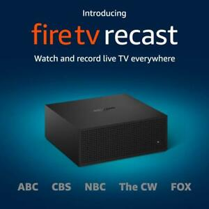 Amazon Fire TV Recast DVR Record Over The Air Shows 500 GB 75 hours