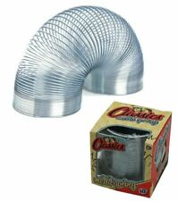 7cm Large Metal Spring Classic Retro Springy Slinky Toy Stocking Filler Gift