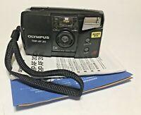 Vintage Olympus Trip AF 30 QD DX Film 34mm Autofocus Point and Shoot Camera