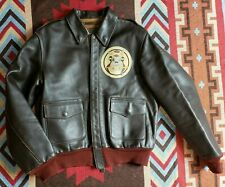 Buzz Rickson A-2 Bomer Military Horsehide Leather Jacket The Real McCoy's