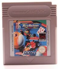 NINTENDO GAMEBOY GAME BOY-MICRO MACHINES DMG-H3-UKV Gioco SOLO