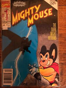 MIGHTY MOUSE #1 (Oct 1990 Marvel) THE DARK MIGHT RETURNS Comic Book