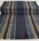 Japanese Vintage Kimono Cotton Textile New Old Stock Bolt Stripe 433 1  x 13 8