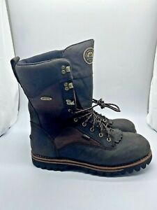 IRISH SETTER ELK TRACKER 880 HUNTING BOOTS MENS SIZE 13 E2 2ND FLAW RED WING