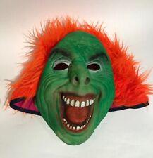 Halloween Vert Lutin Sprite Orc LARP la moitié de Mousse Visage Masque Sorcier Déguisement
