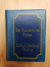 The Yellowplush Papers Del Prado Miniature Book  William Makepeace Thackeray