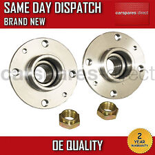 LANCIA DEDRA,DELTA,Y REAR WHEEL BEARING KIT PAIR (x2) + HUB NON ABS 1993-2005