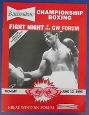 Fight Night At The Great Western Forum Jesse Magana Program 6/12/95 122149