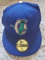 Ogden Raptors Fitted Baseball Cap Hat New Era 5950 59Fifty 7 1/8 New MiLB