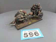 Warhammer Age of Sigmar Warriors of Chaos Lord in Boar Chariot H596/909