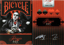 CARTE DA GIOCO BICYCLE KINGPIN MADE limited edition,poker