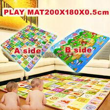 5mm 2mx1.8m Thick L Baby Kids Play Mat Floor Rug Picnic Cushion Crawling Mat
