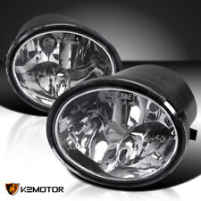 For 2000-2006 Toyota Tundra 2001-2007 Sequoia Clear Bumper Driving Fog Lights