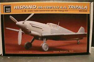 Hispano HA-1109 Spanish Messerschmitt 109 TRIPALA SBS conversion kit 1/48
