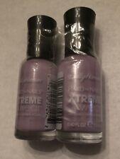 2 Pack Sally Hansen Hard As Nails Xtreme Wear Nail Color Polish Lacey Lilac 559