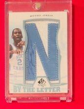 Michael Jordan 2013 SP Authentic By the Letter Auto SP /23