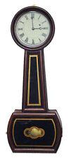 American Style Howard No. 5 Single Weight Driven Movement Banjo Wall Clock